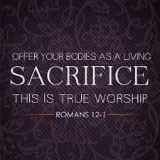 A Living Sacrifice – Week 24 / June 10th