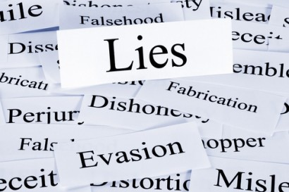 The Peril of Lying