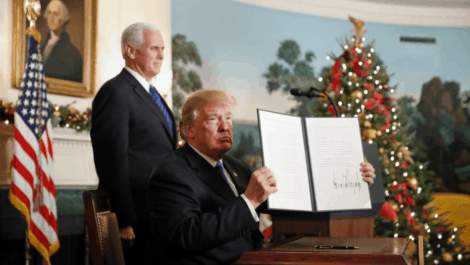 Statement – President Trump Declares Jerusalem is Israel's Capitol