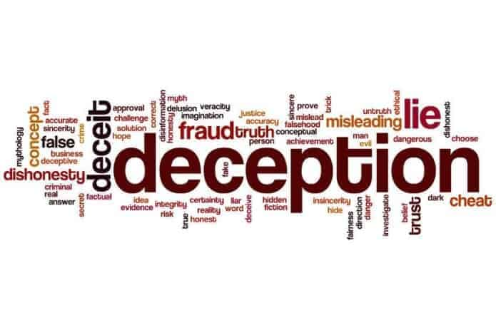 Peddlers of Deception