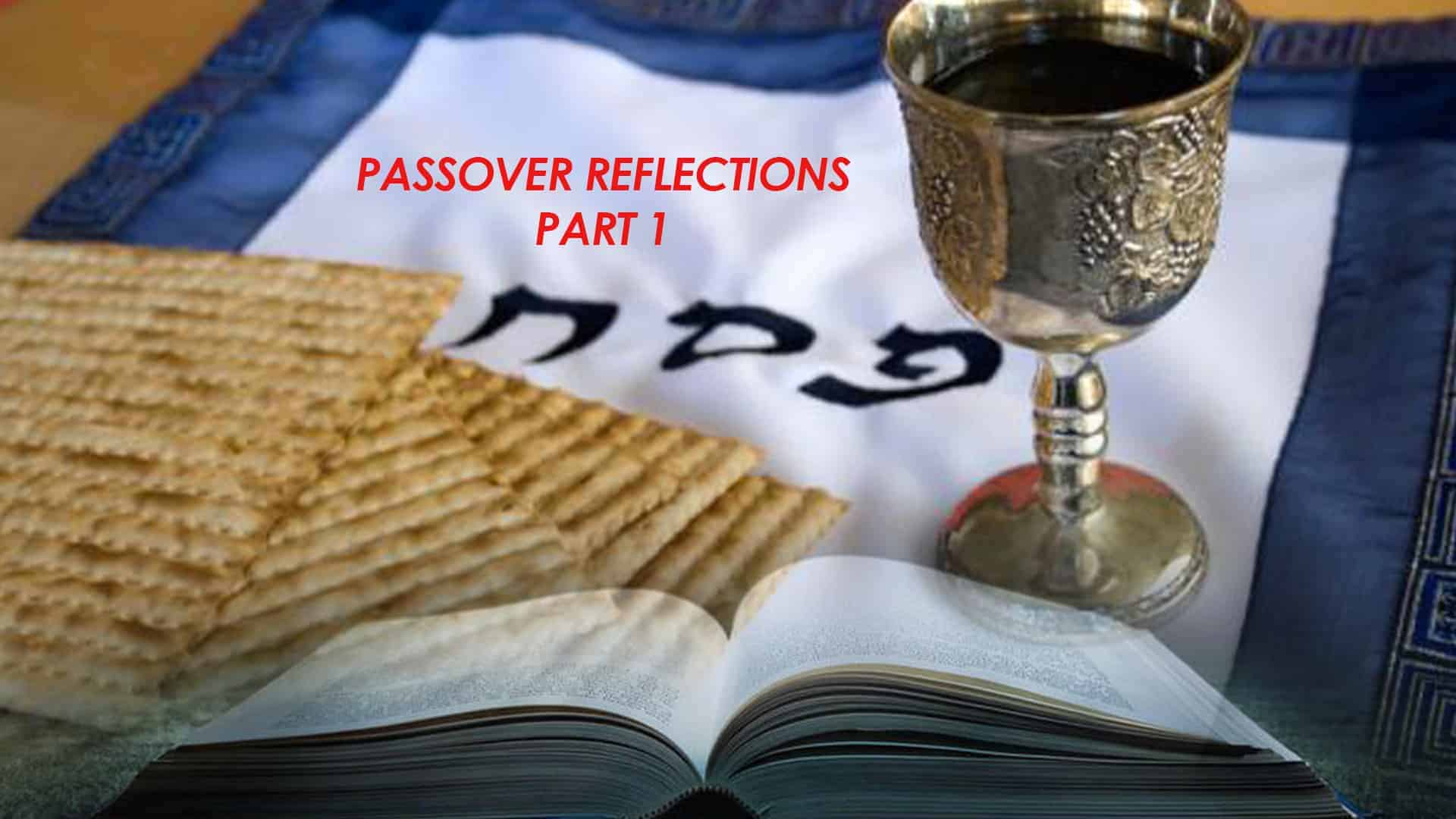 Passover Reflections Part 1