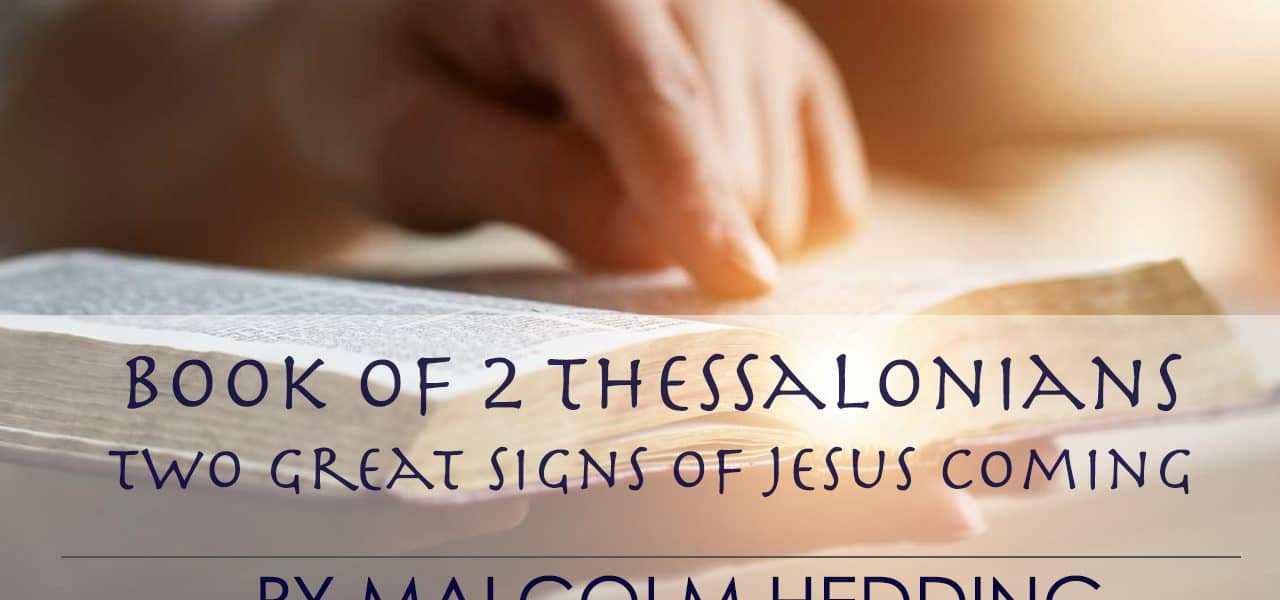 Two Great Signs of Jesus Coming