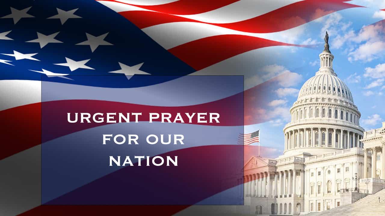 Urgent Call to Pray